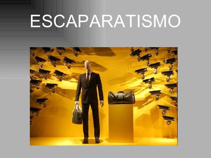 ESCAPARATISMO