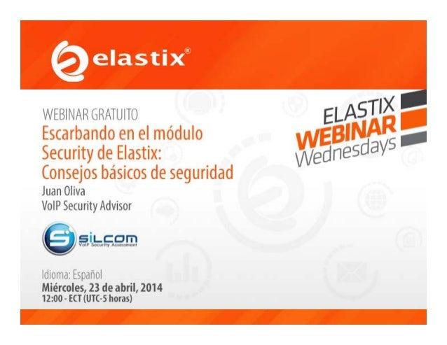 Escarbando en el módulo Security de Elastix