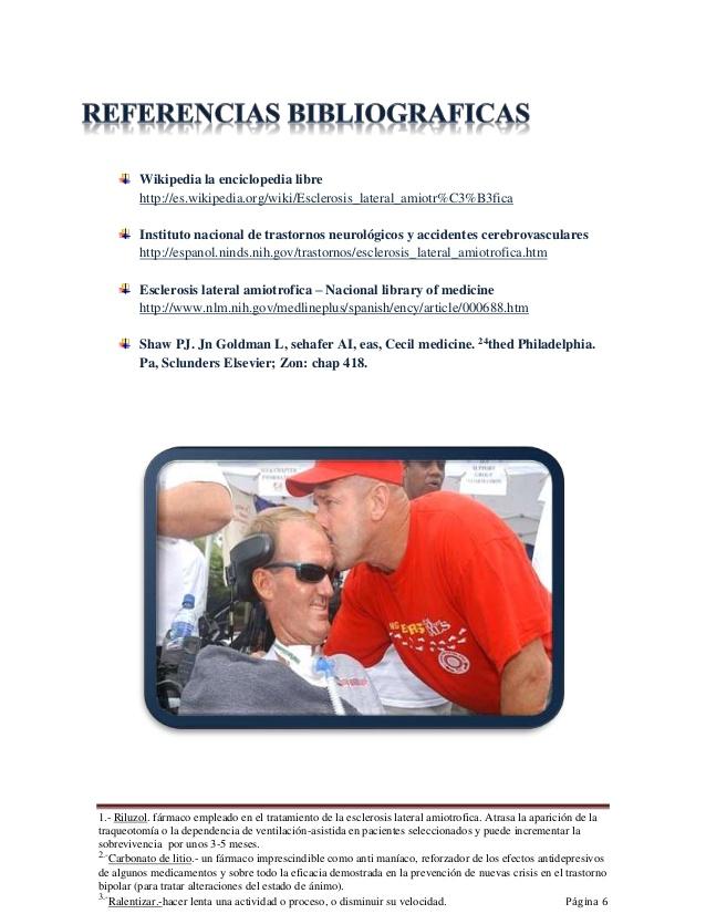 Esclerosis lateral amiotrofica ' Una degeneraci�n neuromuscular'
