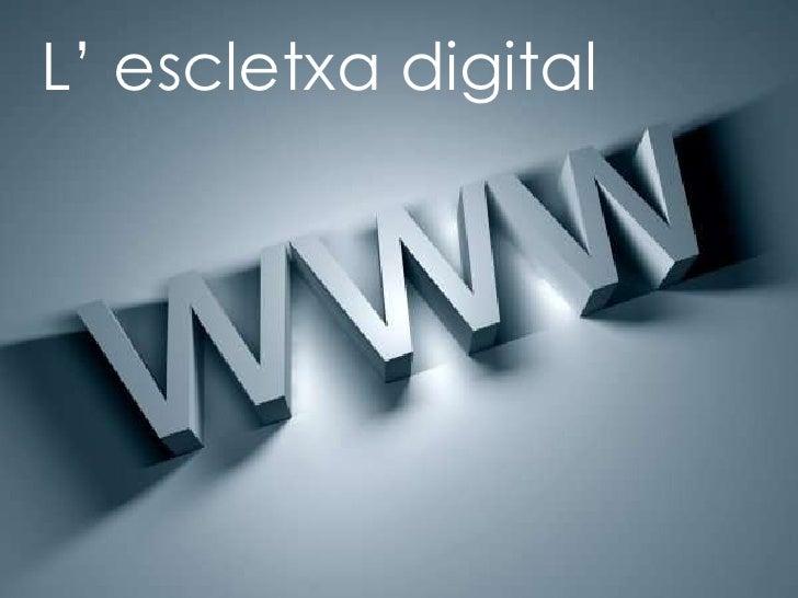 L' escletxa digital