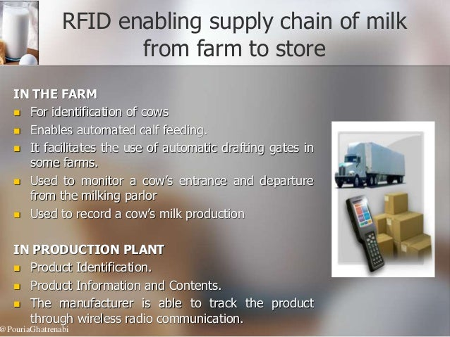 rfid in supply chain management case study An rfid based supply chain inventory management solution for the petroleum development industry: a case study for shell nigeria.