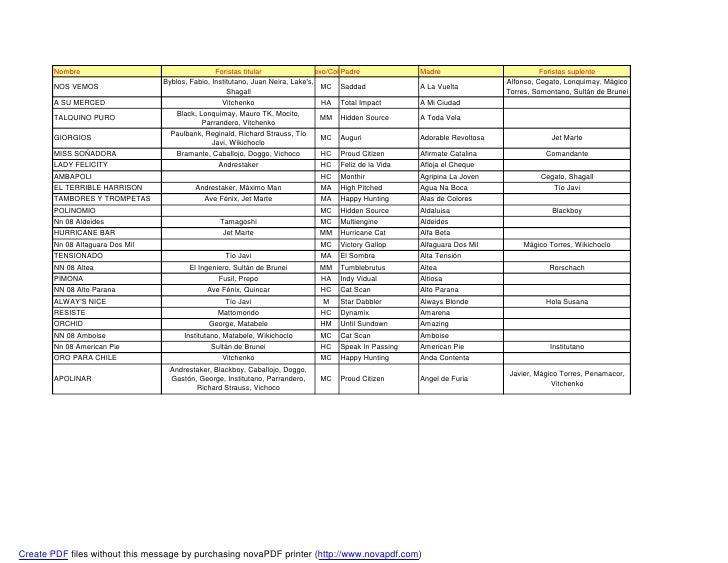 Escogidos mdp 2011 catalogo definitivo