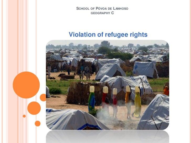 Violation of refugee rights