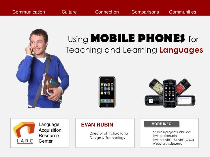 Using MOBILE PHONES for Language Teaching and Learning