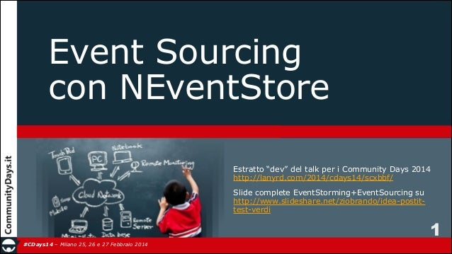 Event Sourcing con NEventStore