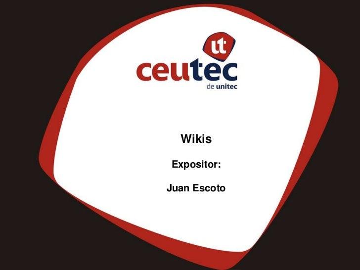 WikisExpositor:Juan Escoto