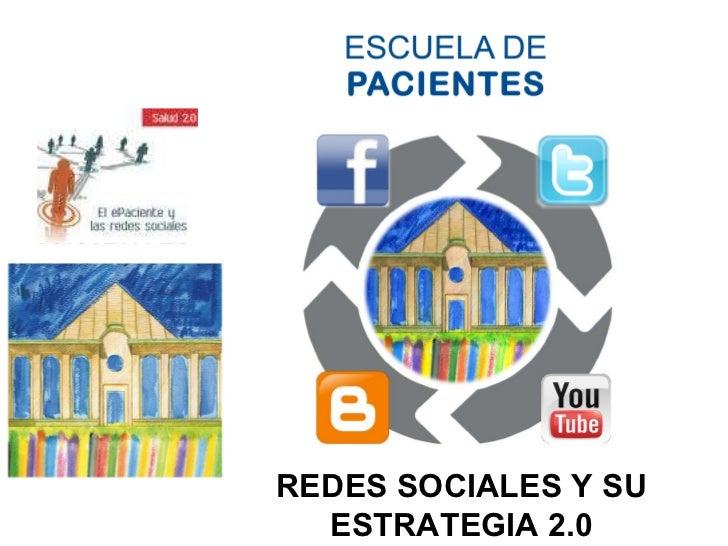 REDES SOCIALES Y SU ESTRATEGIA 2.0