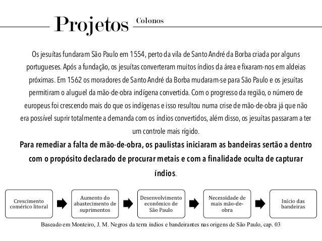 Os jesuítas fundaram São Paulo em 1554, perto da vila de Santo André da Borba criada por alguns portugueses.Após a fundaçã...