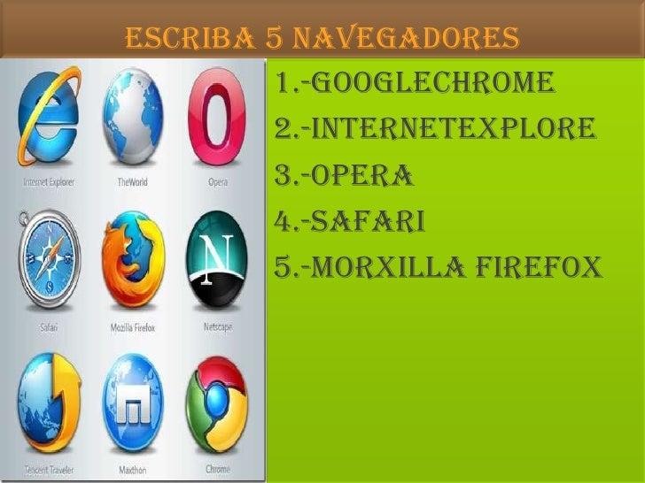 navegadores del internet