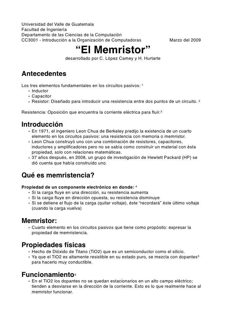Universidad del Valle de Guatemala                       Facultad de Ingeniería Departamento de las Ciencias de la Computa...