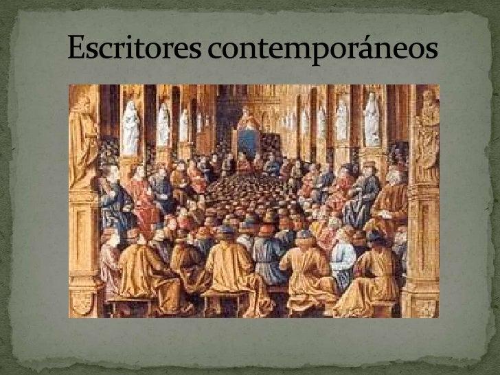 Escritores contemporáneos<br />