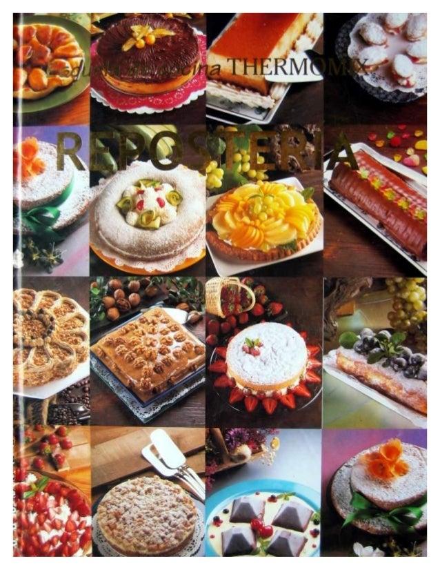 Escuela de cocina thermomix reposter a volumen 1 for Curso de cocina pdf