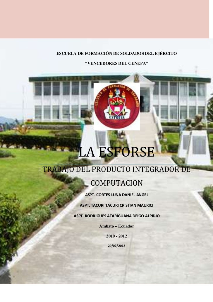 Escuela de formación de soldados del ejército