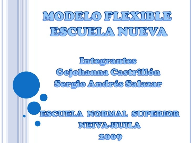 Escuela Nueva Pedagogia Diapositivas .Pdf
