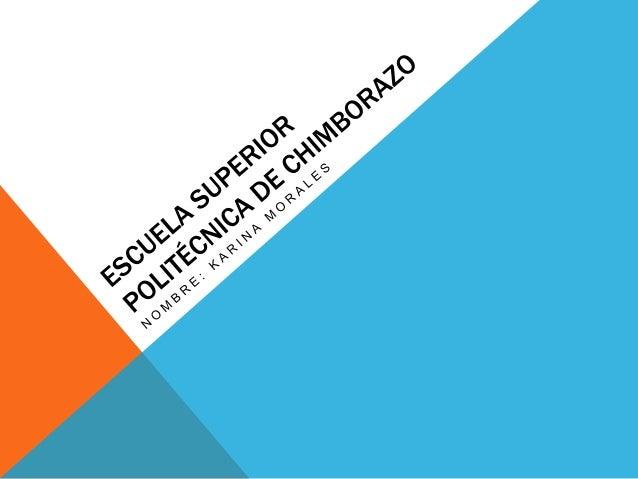Escuela Superior Politcnica De Chimborazo   newhairstylesformen2014 ...