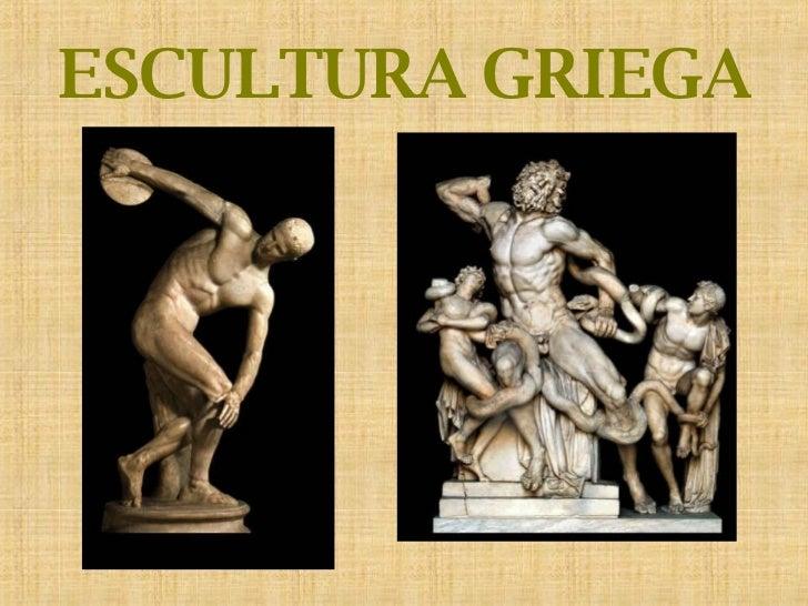 Escultura Griega Escultura Griega Caracteres