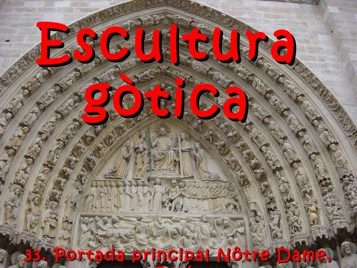 ESCULTURA GÒTICA