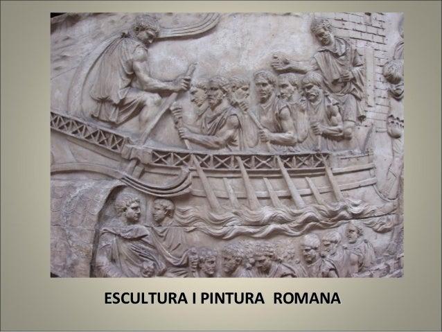 ESCULTURA I PINTURA ROMANA