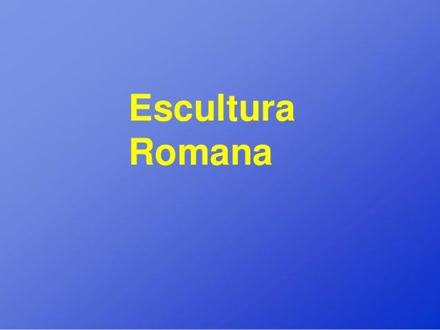 EsculturaRomana