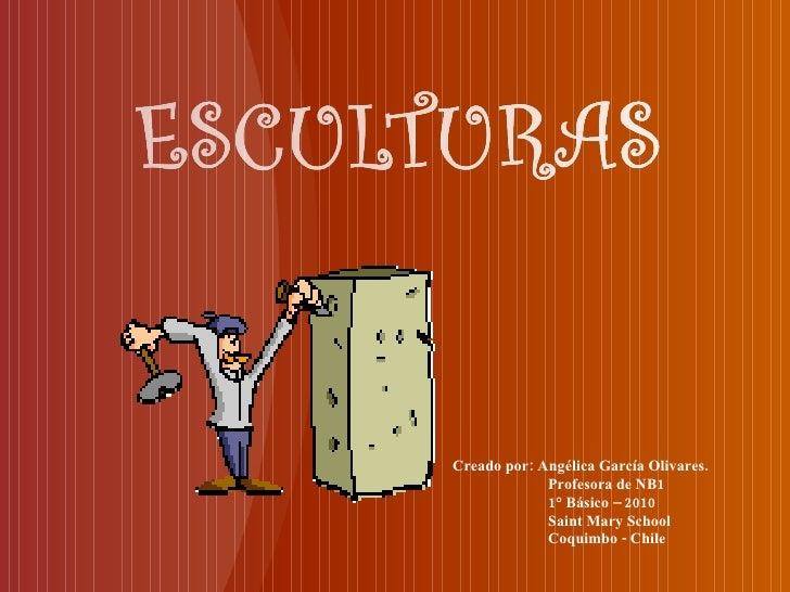 Creado por: Angélica García Olivares. Profesora de NB1 1° Básico – 2010 Saint Mary School Coquimbo - Chile