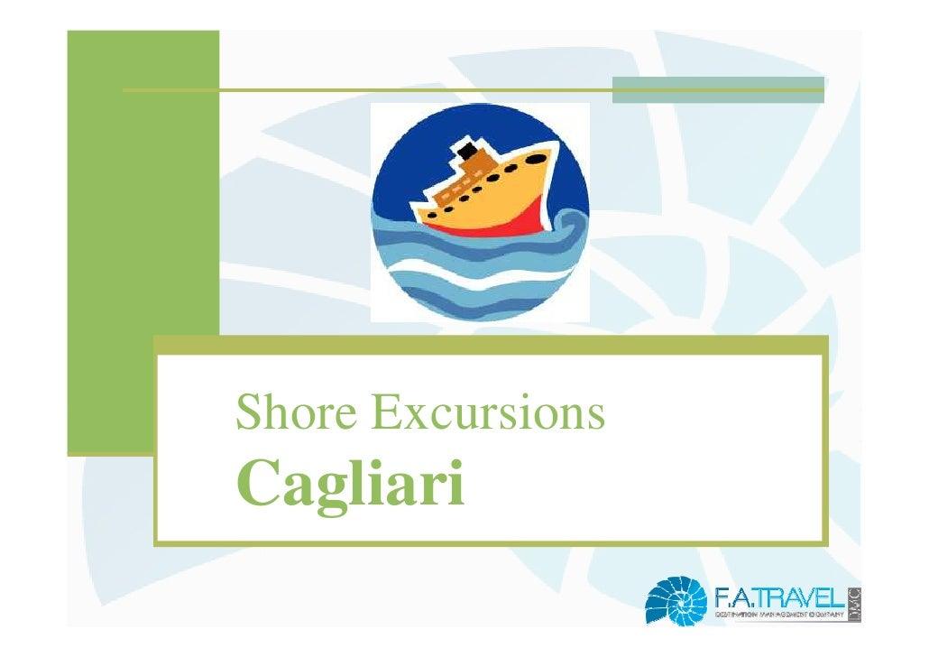 Shore ExcursionsCagliari