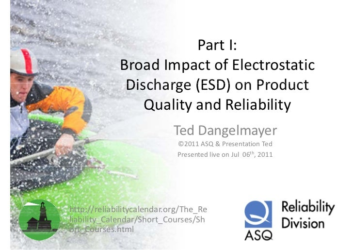 PartI:             BroadImpactofElectrostatic              Discharge(ESD)onProduct              Discharge (ESD) o...