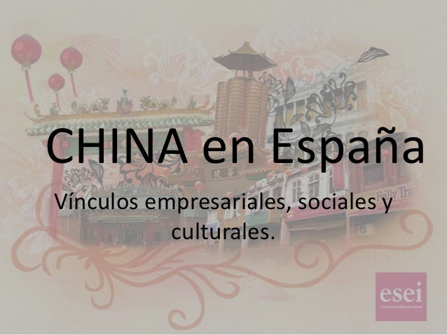 CHINA en ESPAÑA