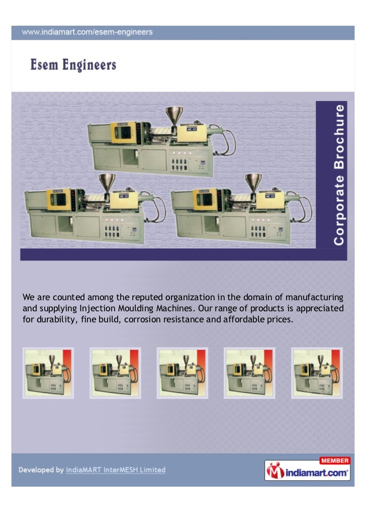 We are counted among the reputed organization in the domain of manufacturingand supplying Injection Moulding Machines. Our...