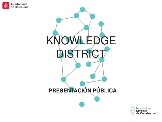 SSTG Presentación pública de Knowledge District