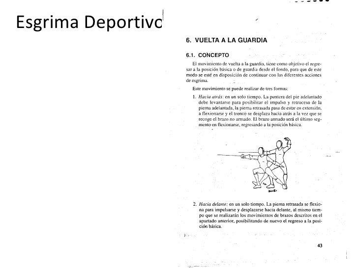 Esgrima Deportivo