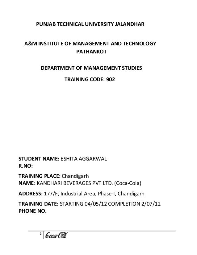 PUNJAB TECHNICAL UNIVERSITY JALANDHAR  A&M INSTITUTE OF MANAGEMENT AND TECHNOLOGY                    PATHANKOT         DEP...