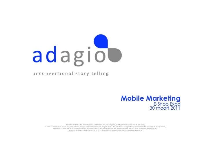Waarom mobile marketing de toekomst is