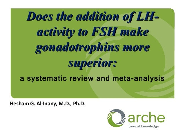 LH activity for Gonadotrphin in controlled ovarian hyperstimulation : LH or just FSH?