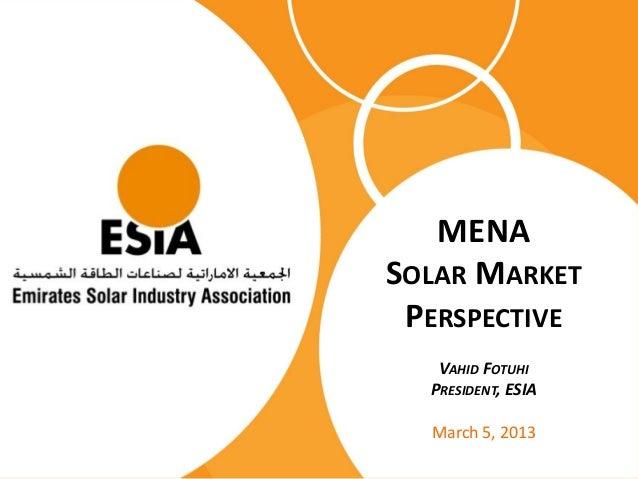 Esia Presentation