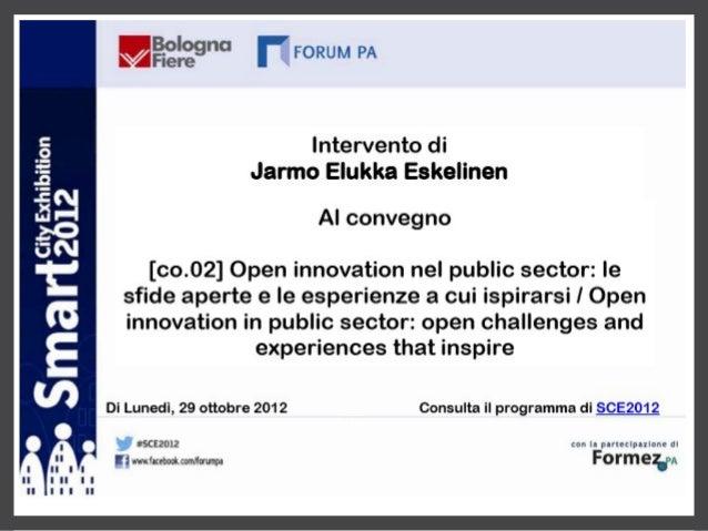 Jarmo Eskelinen a SCE 2012