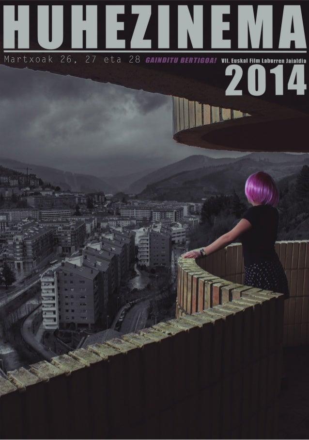 Huhezinema 2014 Eskuprograma