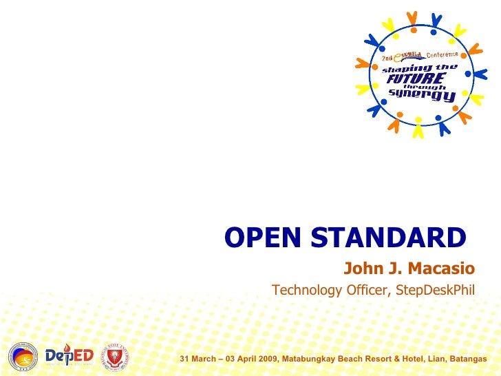 Eskwela Openstandard V1.1