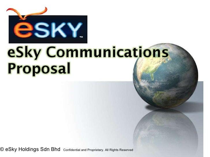 E sky enum business presentation by esky holdings ( products+company+plan) v3.0 show