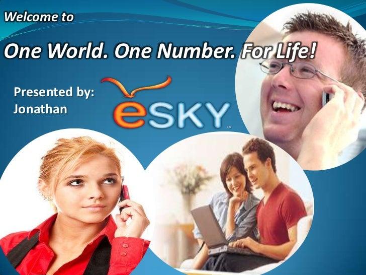 eSky ENUM VoIP Master Presentation v2.0