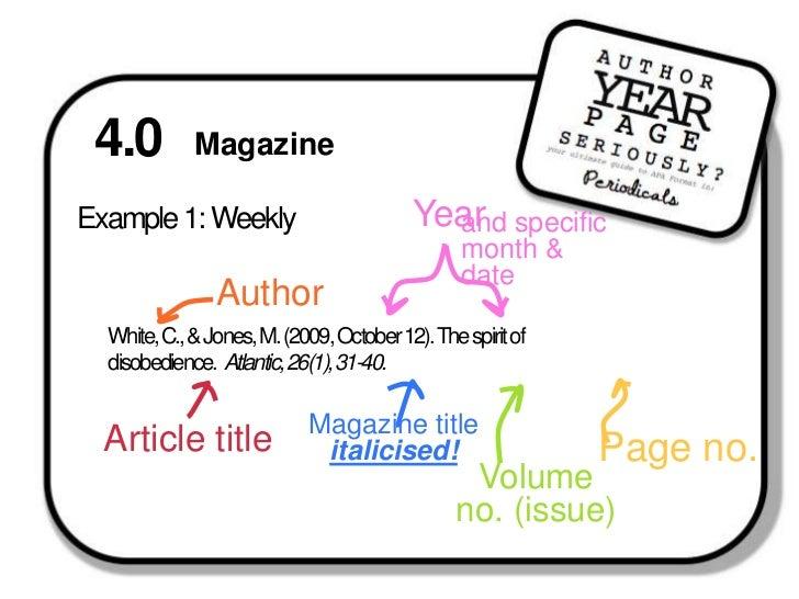 Apa periodical