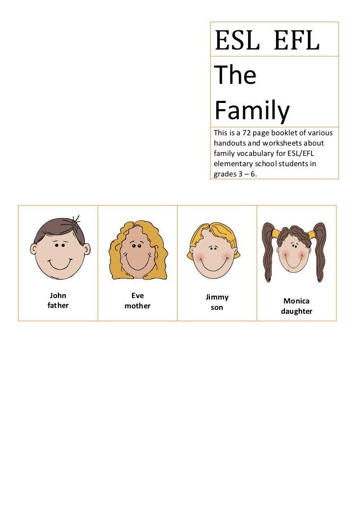 ESL/EFL The Family
