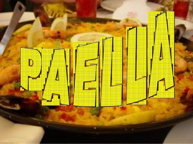 Eslovenia paella