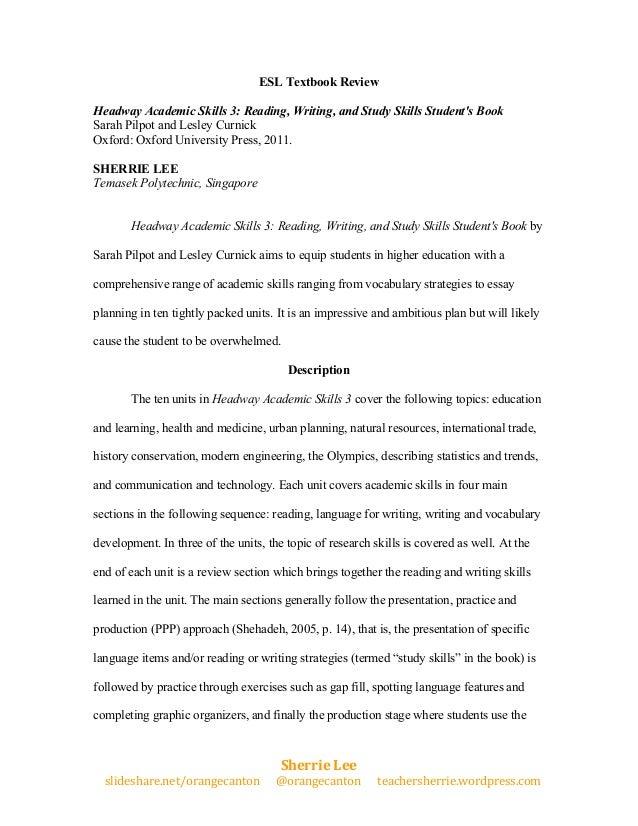 ESL Textbook Review