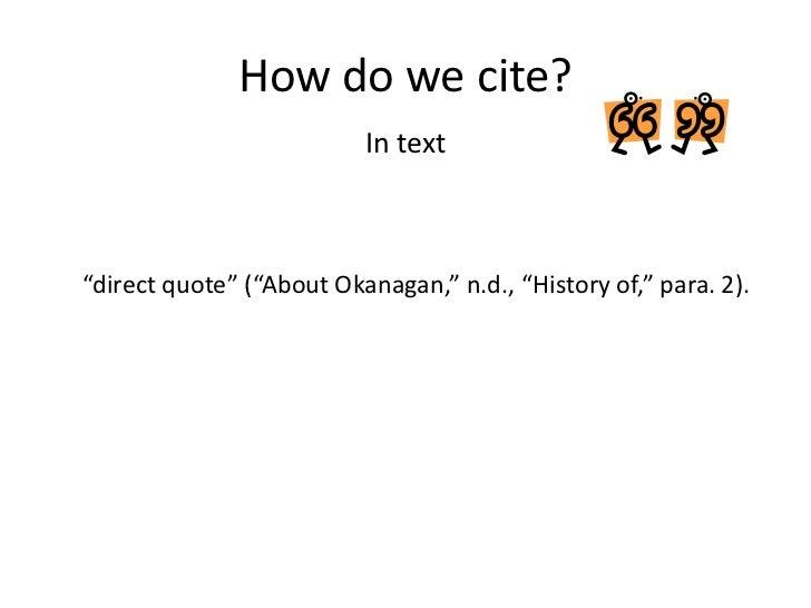 Direct cite