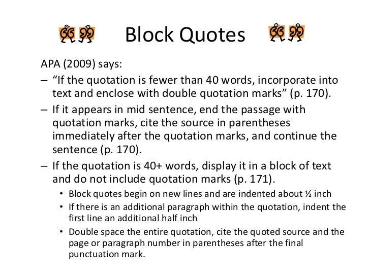 Quotation citation