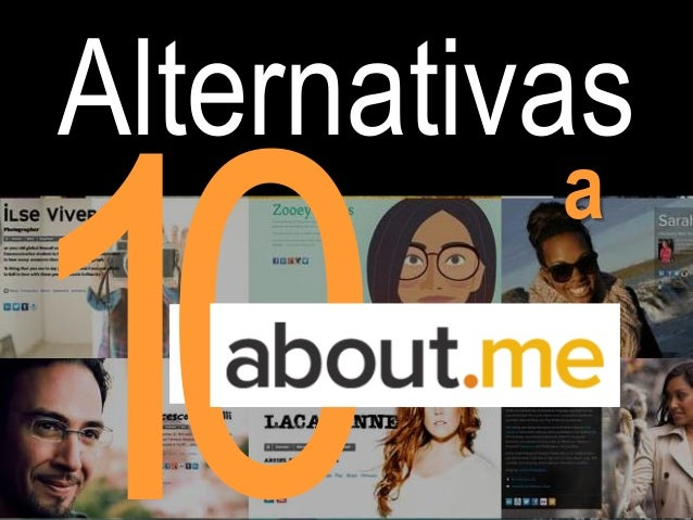 Esmeralda Diaz Aroca 10 alternativas a About.me para crear tu  web personal