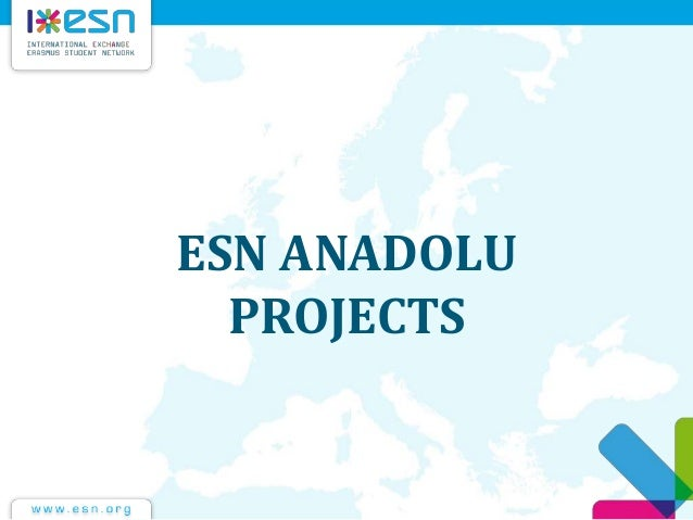 ESN ANADOLU PROJECTS