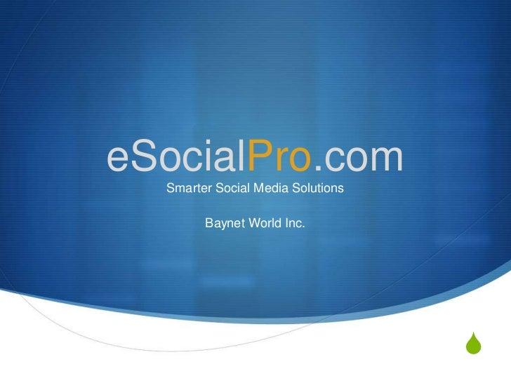eSocialPro