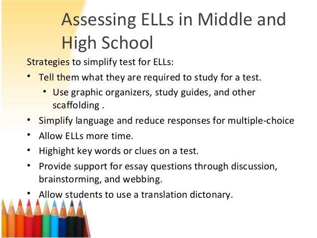 assessment ell essay
