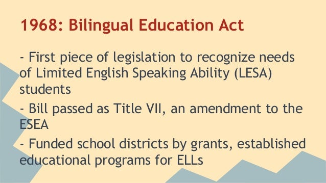 essays against bilingual education Free essay: bilingual education in america is controversial as many educators, politicians, and citizens disagree as to the process of assimilation in the.